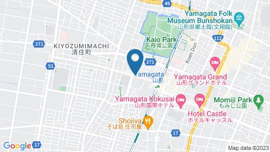 Toyoko Inn Yamagata-eki Nishi-guchi Map