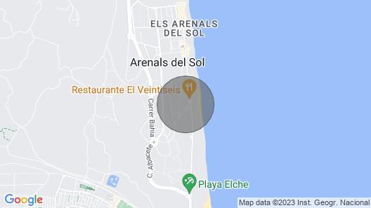 Vacation home Sol y Mar in Santa Pola - 4 persons, 2 bedrooms Map