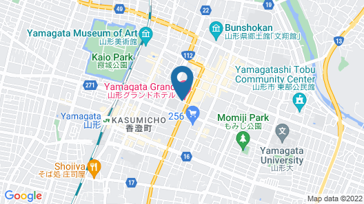 Yamagata Grand Hotel Map