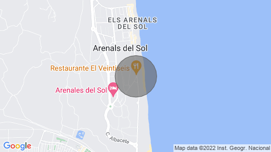 3 Bedroom Accommodation in Arenales del sol Map