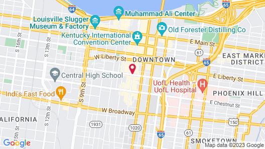 The Seelbach Hilton Louisville Map