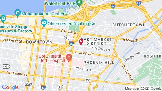 Hancock House Map