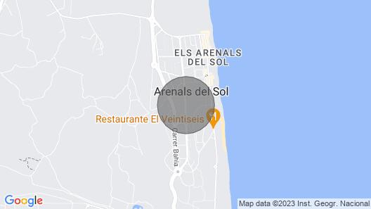 Arenales - Arenales Del Sol, Arenales Del Sol, Costa Blanca Map