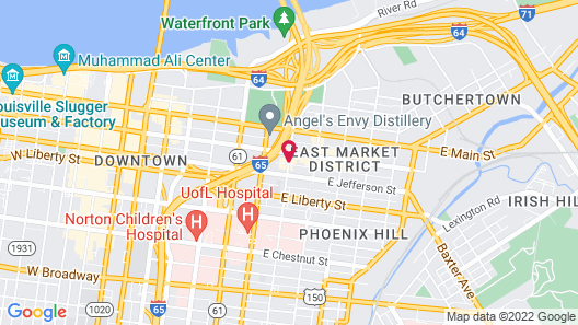 Home2 Suites by Hilton Louisville Downtown NuLu Map