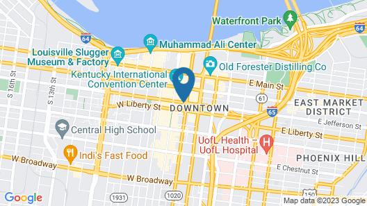 Hyatt Regency Louisville Map