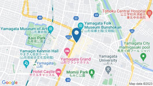 HOTEL STAYin NANOKAMACHI Map