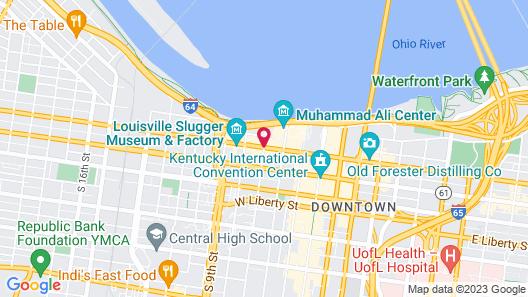 21c Museum Hotel Louisville Map