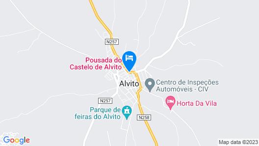 Pousada Castelo de Alvito - Historic Hotel Map
