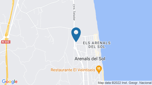 Arenales Great Home Map