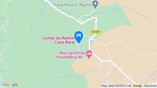 Cortijo de Ramón Map