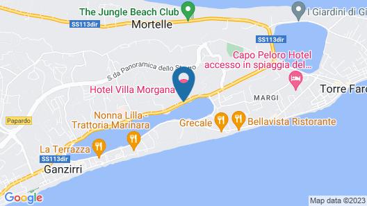Villa Morgana Resort & Spa Map