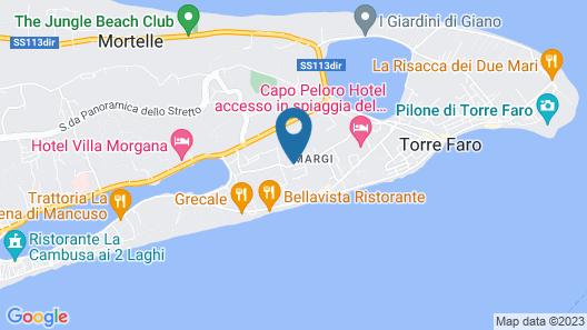 Residence dei Margi Map