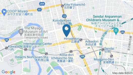 Smile Hotel Sendai-Kokubuncho Map
