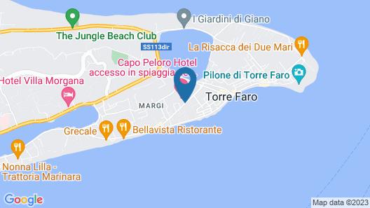 Capo Peloro Resort Map