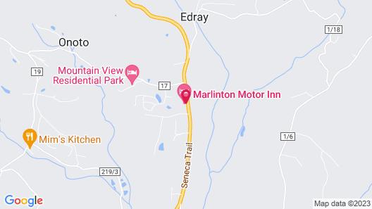 Marlinton Motor Inn Map