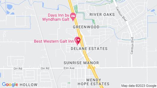 Best Western Galt Inn Map