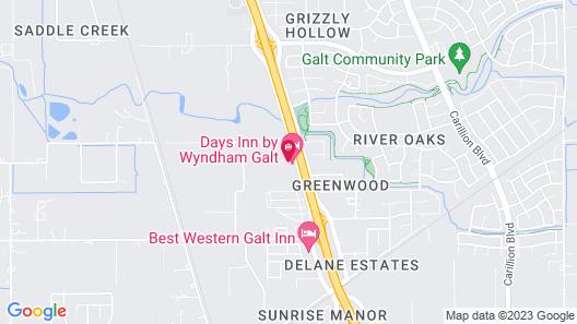 Days Inn by Wyndham Galt Map