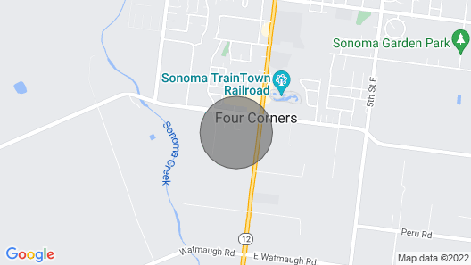 Stunning, Family-friendly Sonoma Moon Garden House w/ Pool Map