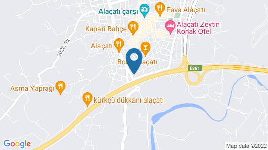 Alacati Limonaia Hotel Map