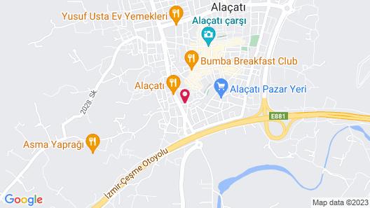 Alacati Ciftekuyu Butik Otel Map