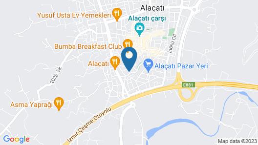 Alenos Boutique Hotel Map