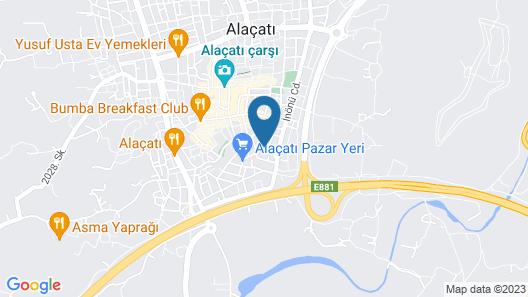 Pachamama Alacati - Adults Only Map