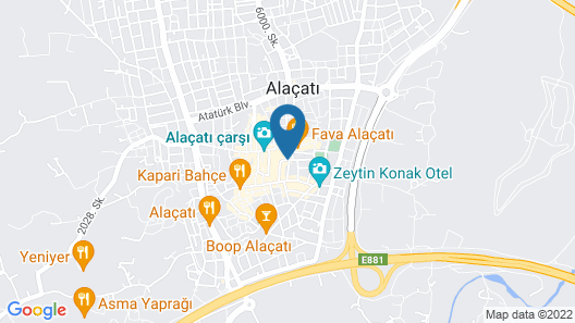 GAIA Alacati  Map