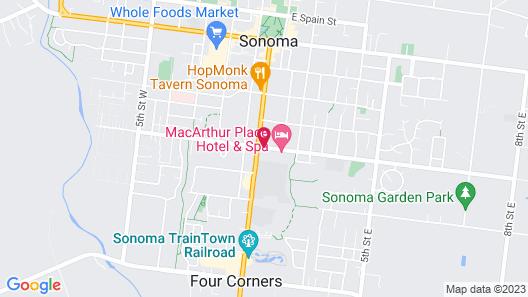 MacArthur Place Map