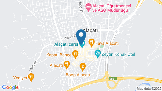 Livan Hotel Deluxe Map