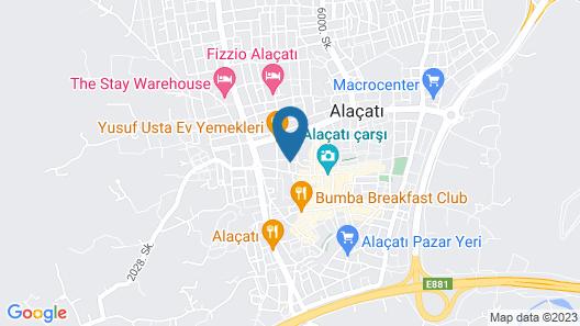Alacati Degirmen Hotel Map