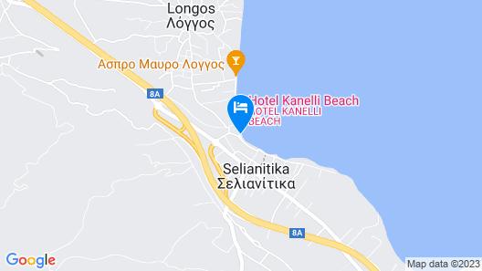Hotel Kiani Akti Map