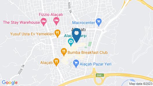 Maison d'Azur Alacati Map