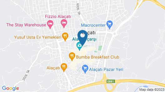 Viento Hotel Alacati - Special Class Map