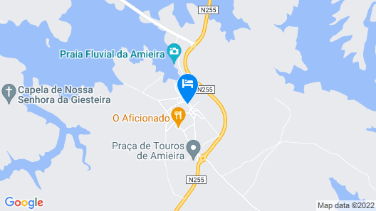 Aldeia do Lago Map