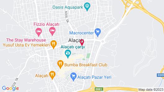 Alachi Hotel Map