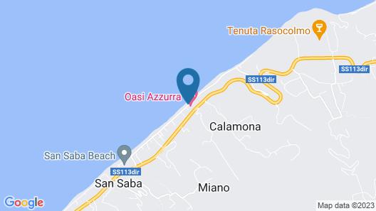 Oasi Azzurra Village Map
