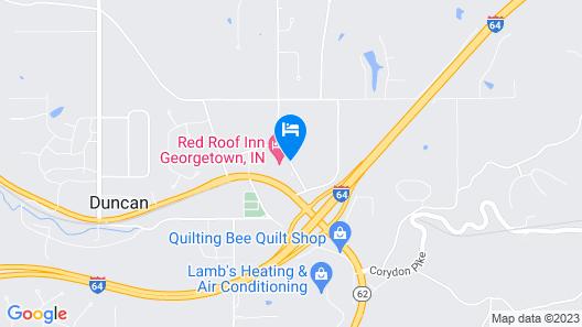 Red Roof Inn Georgetown Map