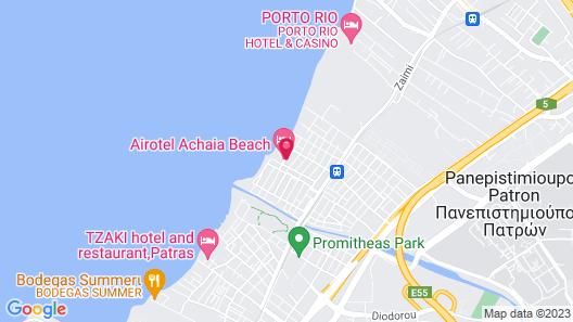 Airotel Achaia Beach Map