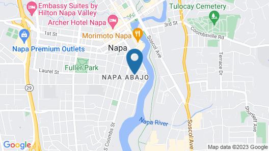 White House - Napa Valley Inn Map