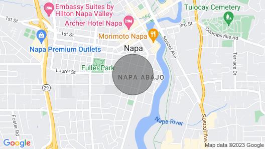 Inn on Randolph Map
