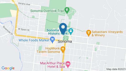 El Dorado Hotel Map