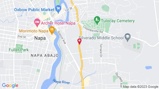 Napa Discovery Inn Map
