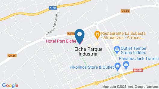 Hotel Port Elche Map