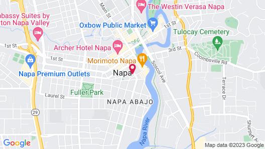 R INN NAPA Map
