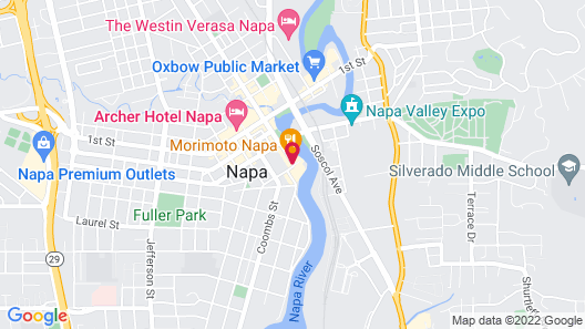 Napa River Inn Map