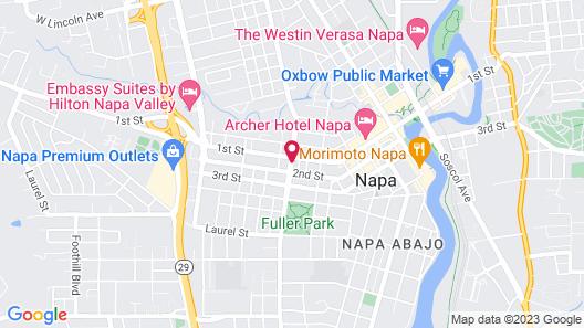 Blackbird Inn Map