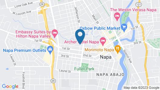 Napa Inn Map