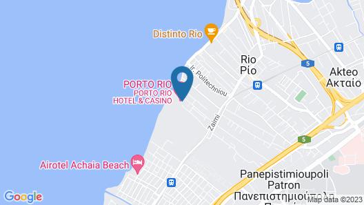 Porto Rio Hotel Casino Map