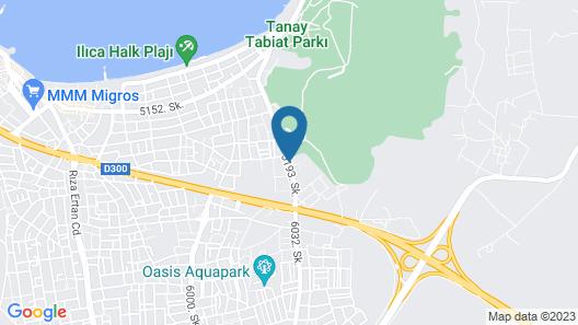 Alacati Villa Renk Map