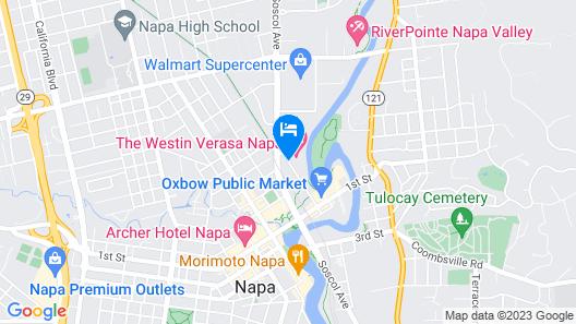 The Westin Verasa Napa Map